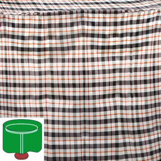 tisch schutzh lle beige rund klein von g rtner p tschke. Black Bedroom Furniture Sets. Home Design Ideas