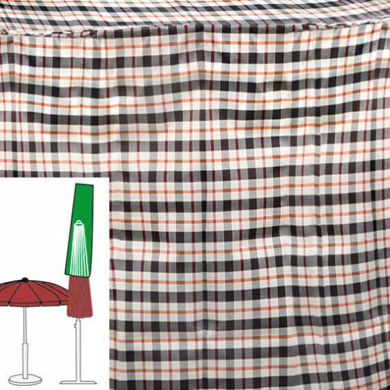Sonnenschirm-Schutzhülle, beige