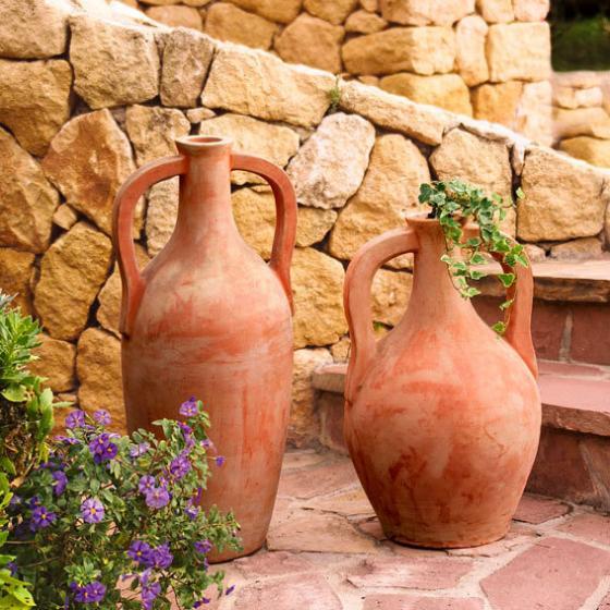 Terracotta-Amphoren Attika & Naxos, 2er-Set