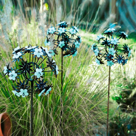 Gartenstecker Pusteblume, 3er-Set