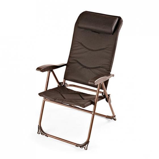 Camping-Stuhl Lido, schwarz