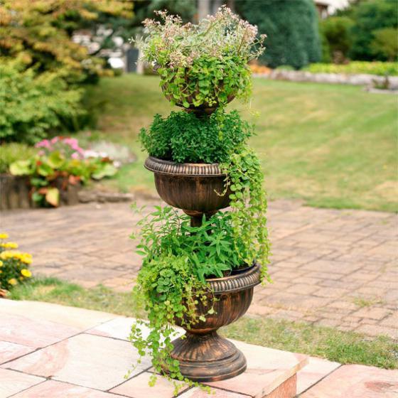 Blumen-Etagere Les Trois Pots