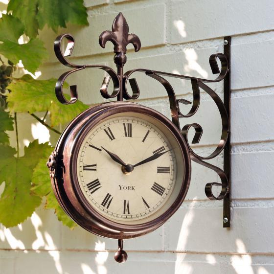 Garten-Uhr-Thermometer Old York