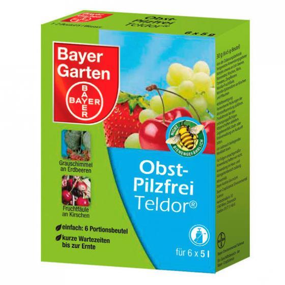 Bayer Obst-Pilzfrei Teldor®, 6 x 5 g Beutel