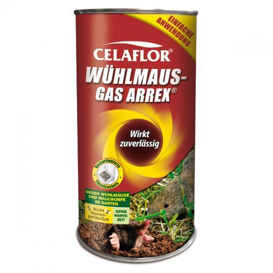Celaflor® Wühlmaus-Gas Arrex®, 250 g Dose