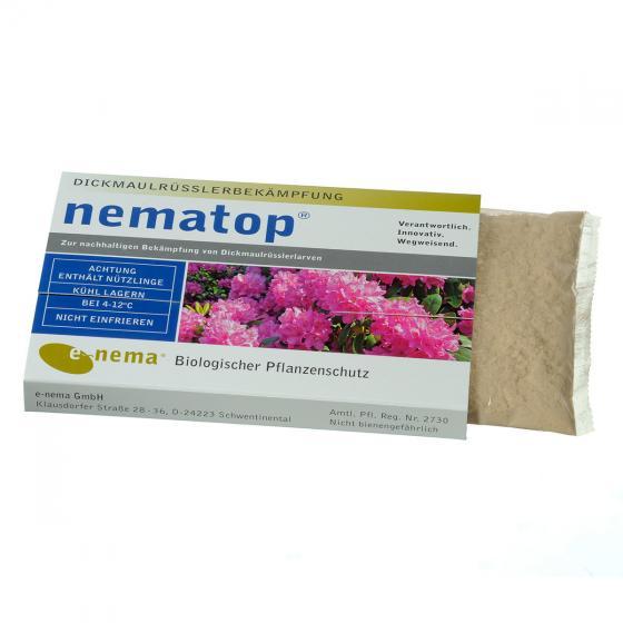 e-nema nematop Nematoden gegen Dickmaulrüsslerlarven, 10 Mio.