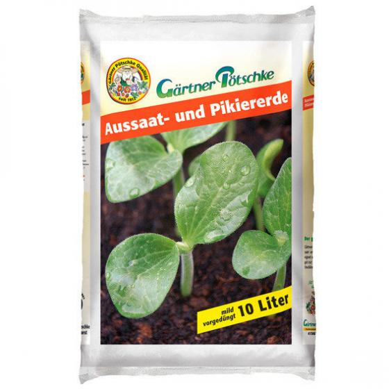 Gärtner Pötschke Aussaat- und Pikiererde, 10 Liter