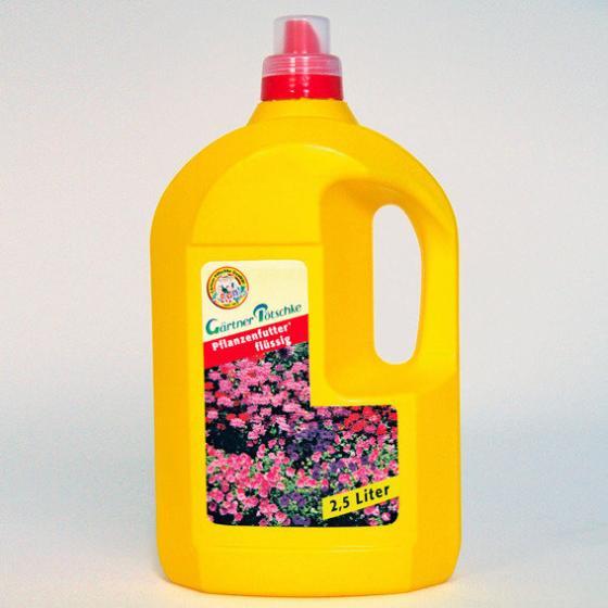 Gärtner Pötschke Pflanzenfutter flüssig, 2,5 Liter