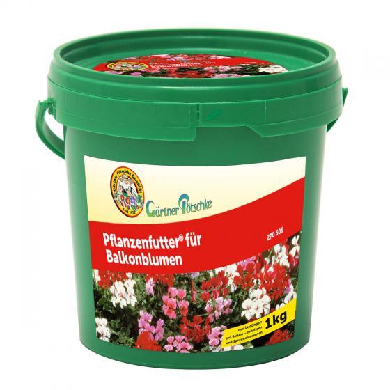 Pflanzenfutter für Balkonblumen, 1 kg