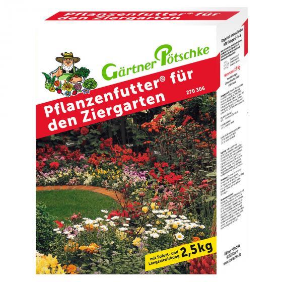 Gärtner Pötschke Pflanzenfutter für den Ziergarten, 2,5 kg