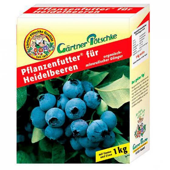 Gärtner Pötschke Pflanzenfutter für Heidelbeeren, 1 kg
