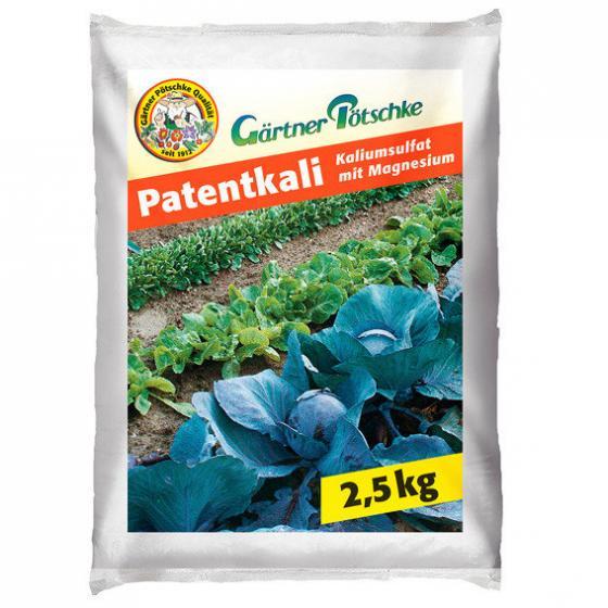 Gärtner Pötschke Patentkali, 2,5 kg