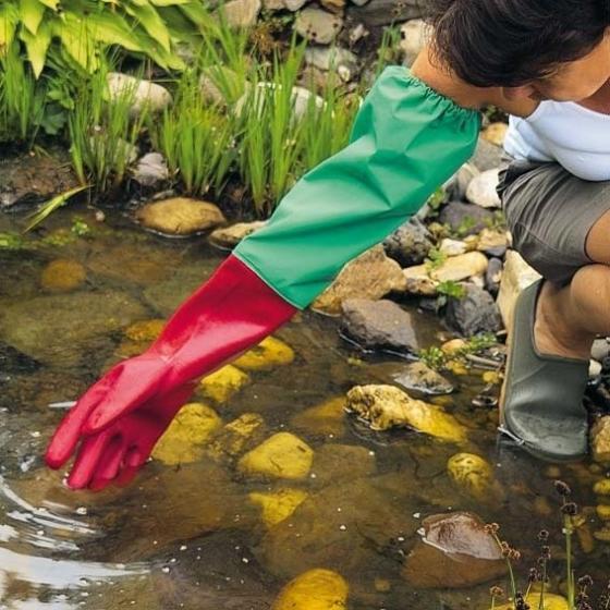 Teich-Handschuhe, 1 Paar