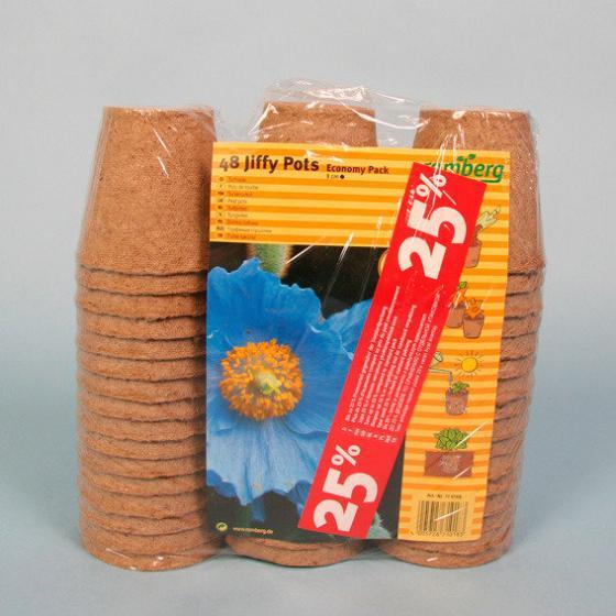 Anzuchttöpfe, 8 cm, rund