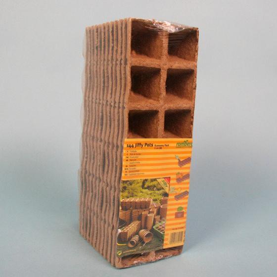 Anzuchttöpfe, 5 cm, quadratisch, 144 Stck.