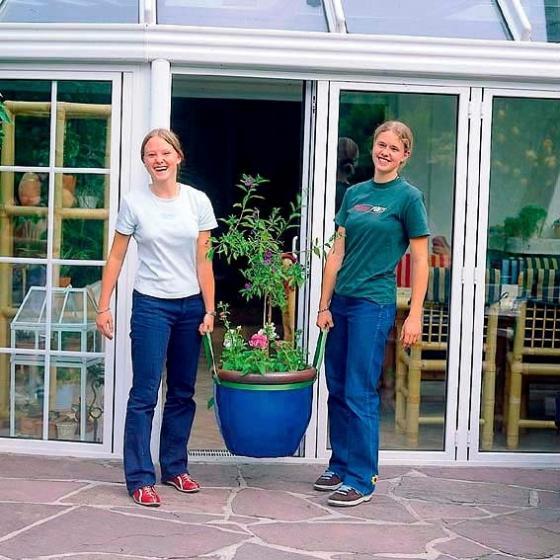 Kübel-Caddy für Pflanzenkübel