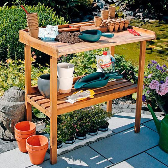 Gartenarbeitstisch Deluxe Gartenprofi