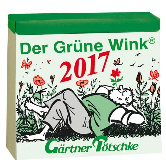 Gärtner Pötschkes Tages-Garten-Kalender Der Grüne Wink®
