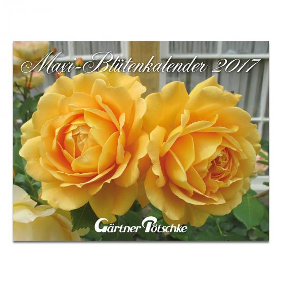 Gärtner Pötschkes Maxi-Blütenkalender