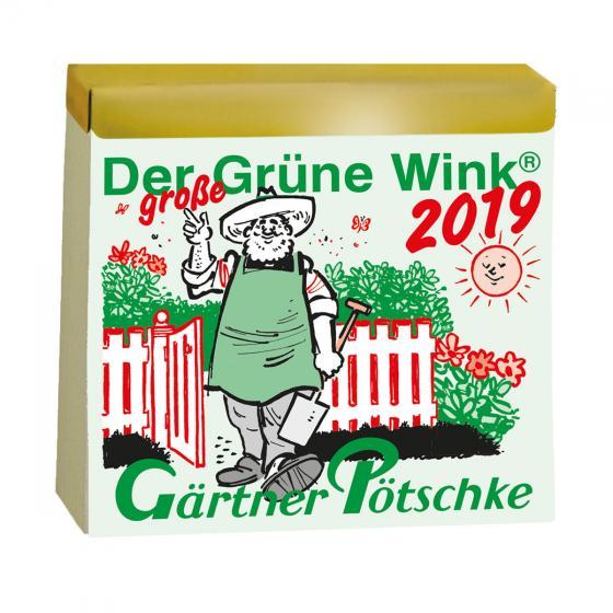 Gärtner Pötschkes MAXI-Abreißkalender Der große Grüne Wink®