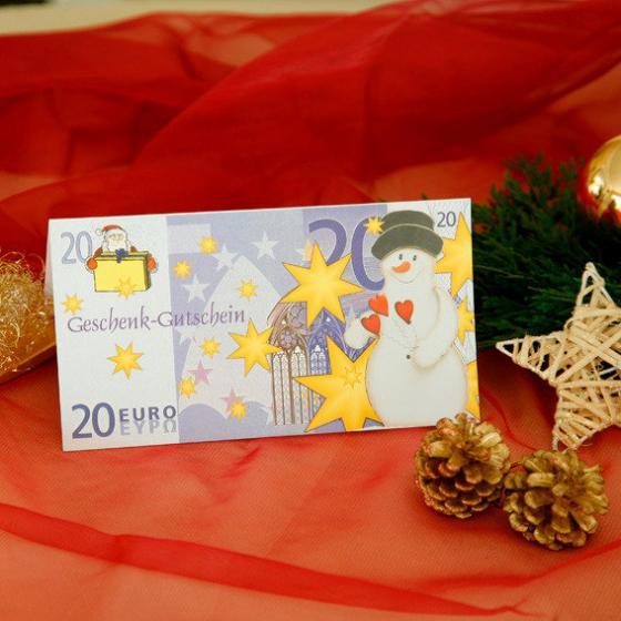 Gärtner Pötschkes Weihnachts-Geschenk-Gutschein 20,- Euro