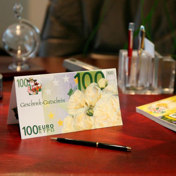 Gärtner Pötschkes Geschenk-Gutschein 100,- Euro