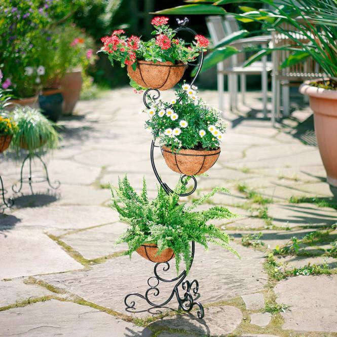 Pflanzenständer Blumenglück, inkl. Pflanzeinsätze