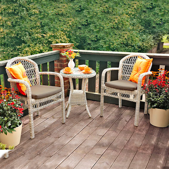 outdoor rattan sitzgruppe veranda. Black Bedroom Furniture Sets. Home Design Ideas