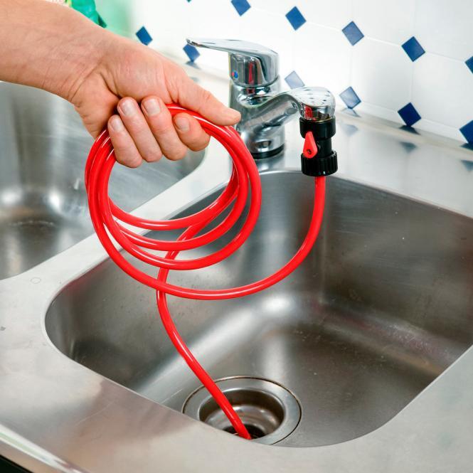 Rohrreiniger Rohrfrei-Power mit Rücklaufventil