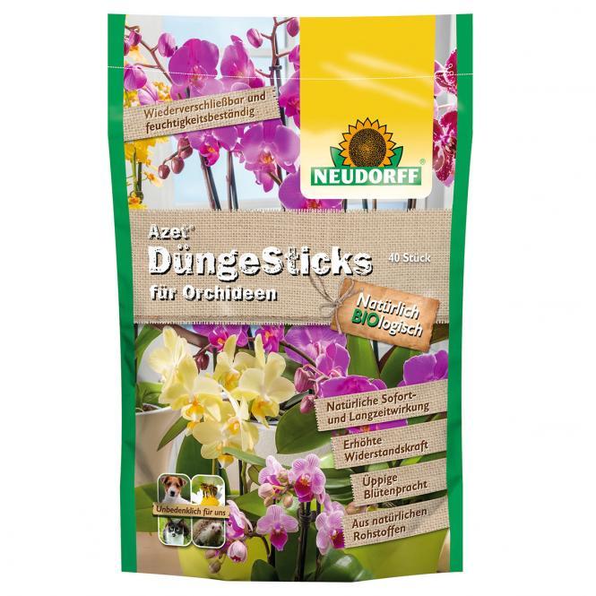 Neudorff Azet DüngeSticks für Orchideen, 40 Stück