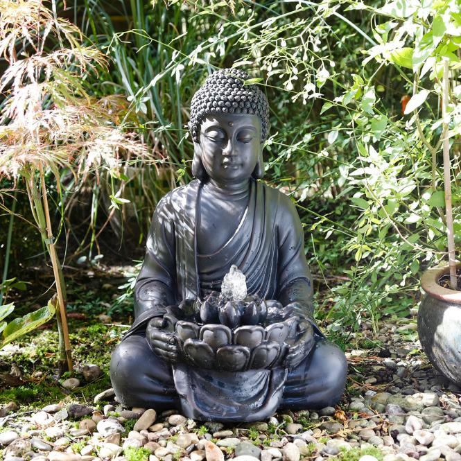 brunnen garten buddha preisvergleiche. Black Bedroom Furniture Sets. Home Design Ideas