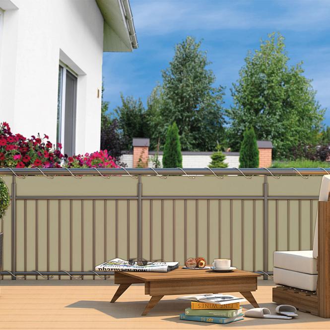 balkon sichtschutz gr n preisvergleich die besten angebote online kaufen. Black Bedroom Furniture Sets. Home Design Ideas