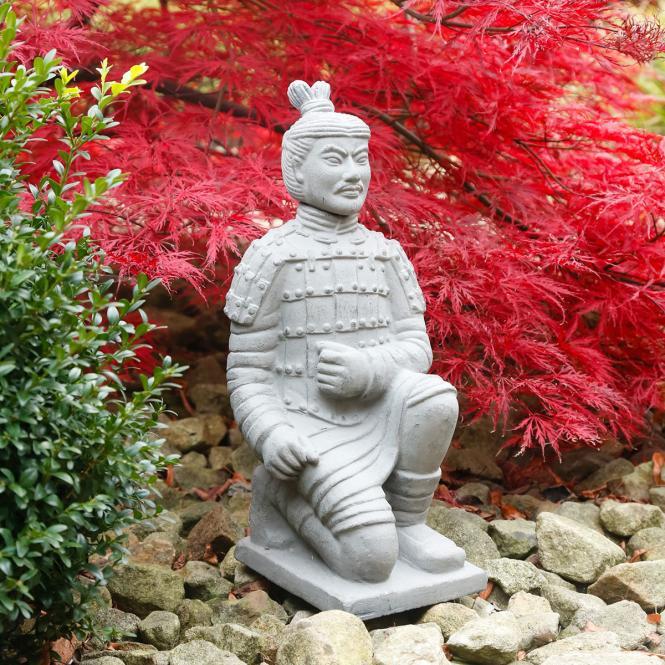 """Deko-Figur """"Terracotta-Krieger"""" aus Terracotta, grau (Kopie)"""