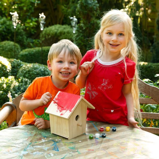 Vogelhaus zum Bemalen