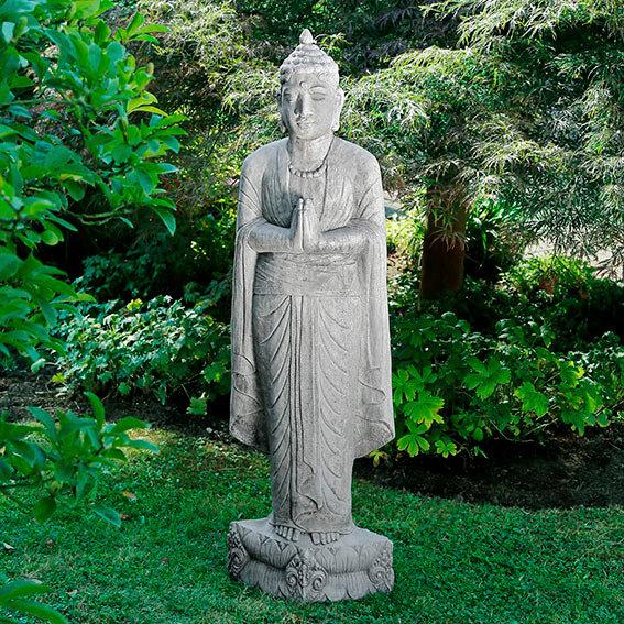 gartendeko gartendekoration gartenfiguren buddhas. Black Bedroom Furniture Sets. Home Design Ideas