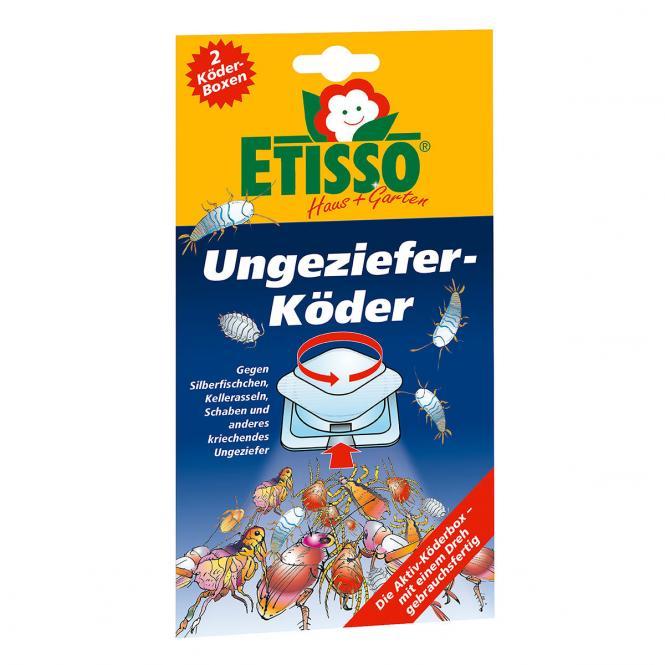 Etisso Ungeziefer-Köder, 2 Boxen