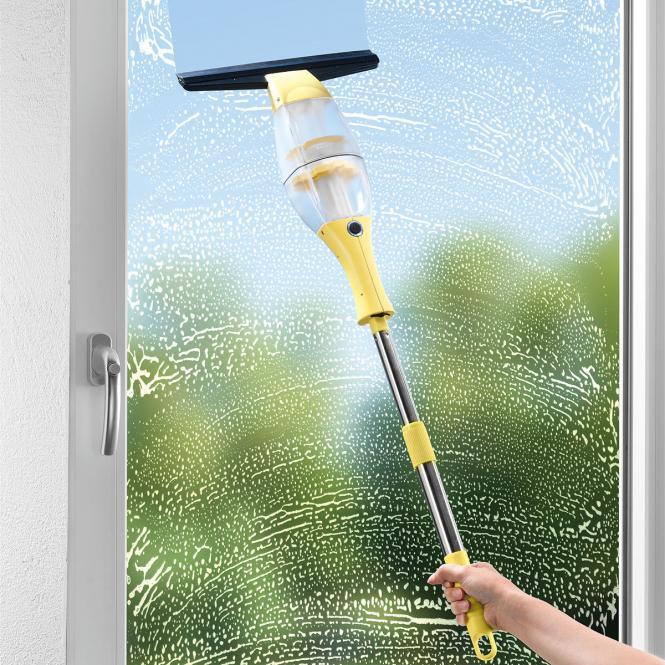 CLEANmaxx Akku-Fensterreiniger mit Verlängerung...