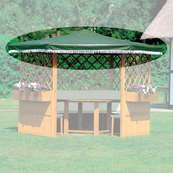 Ersatzdach grün für Pavillon Marburg