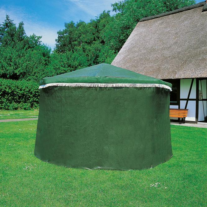 Wetterschutzumhang für Pavillon Rosenheim, grün