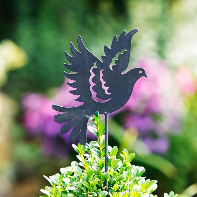 Gartenstecker Taube Paloma