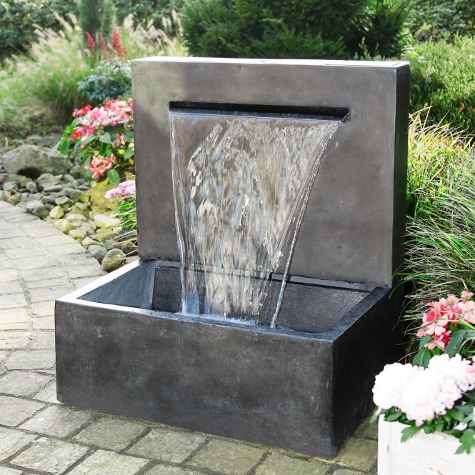 "Gartenbrunnen ""Trend Art"" aus Terracotta, grau (Kopie) Pötschke"