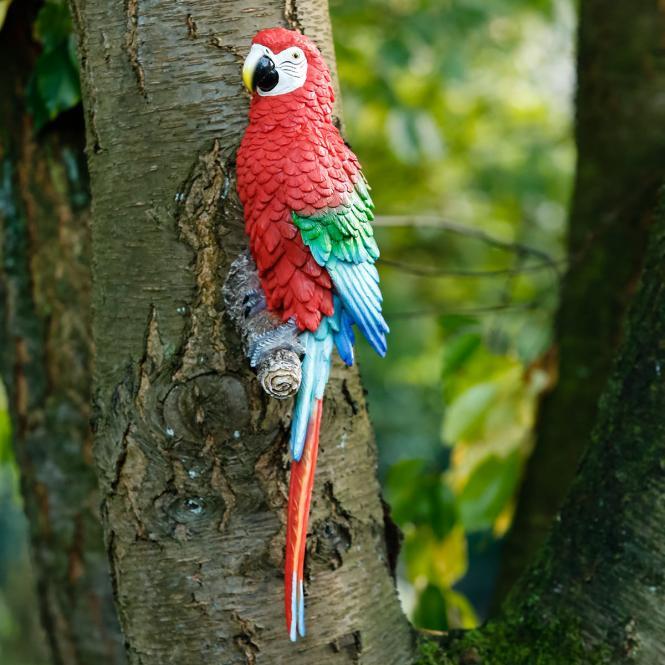 Gartenfigur Papagei Jo-Jo