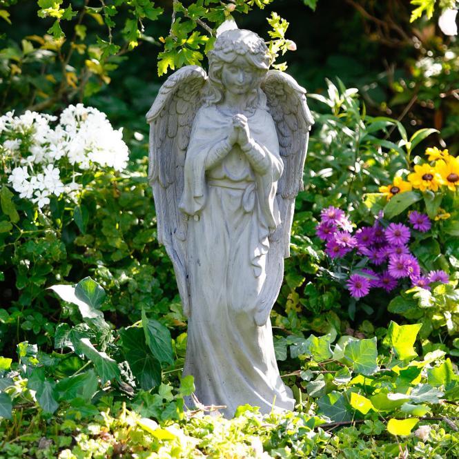 Gartenfigur Schutzengel Fortuna