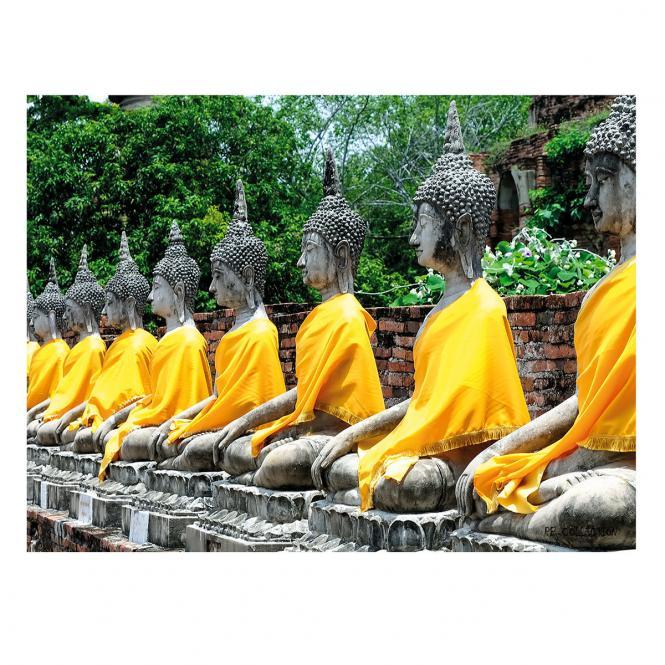 Gartengemälde Buddha 70 x 50 cm