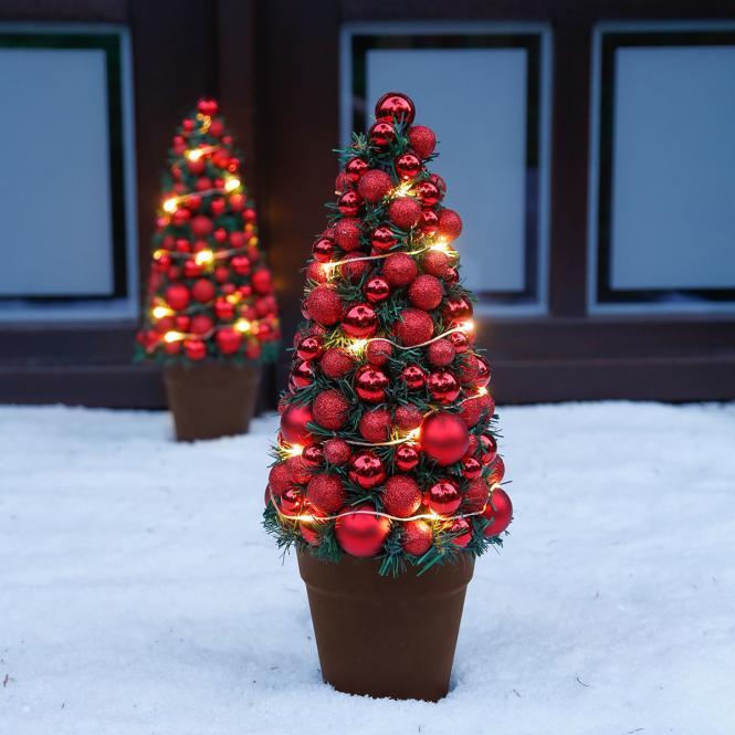 "*All for X-Mas*: LED-Baum ""Christmas Time"" aus Kunststoff"