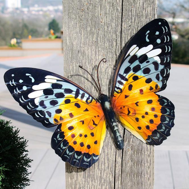 "*NEU*: Wanddekoration ""Schmetterling Shiva"" aus Metall, bunt"