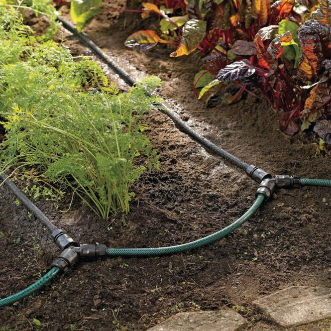 Tropferschlauch-Bewässerungsset