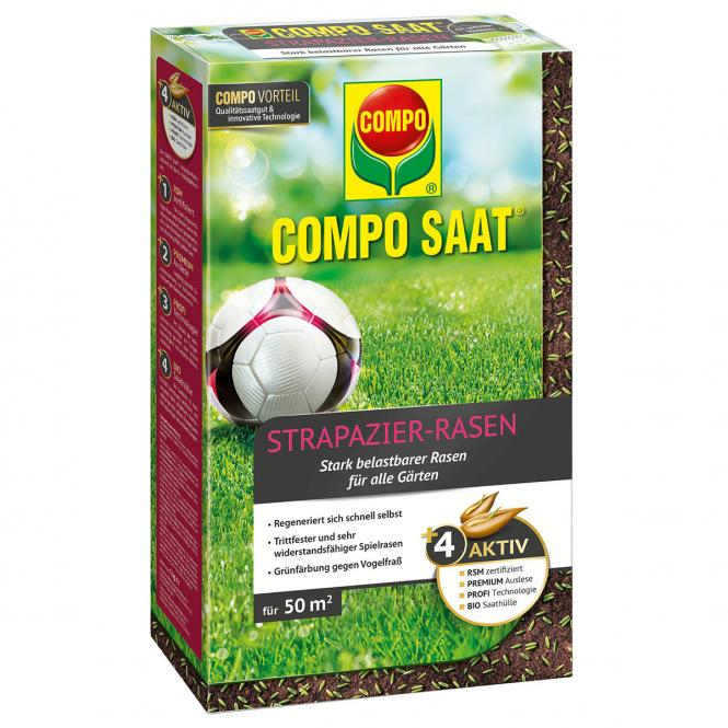 Compo SAAT® Strapazier-Rasen, 1 kg