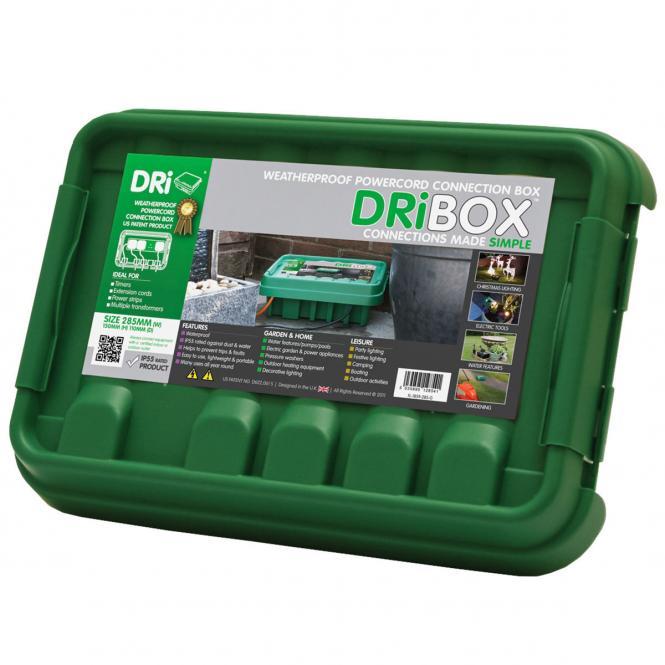 """Outdoor-Kabelschutz """"DRIBox"""" aus Kunststoff, grün"""