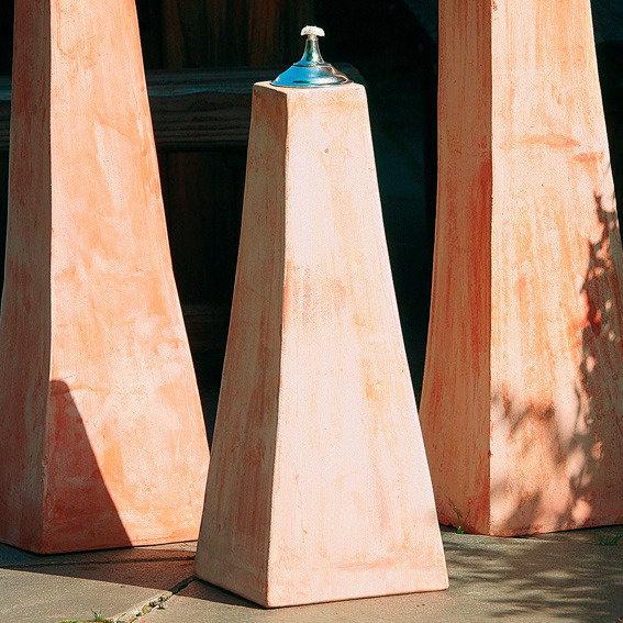 Terracotta-Pyramiden-Öllampe, klein